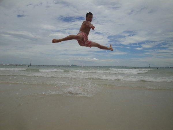 double kick sur Island