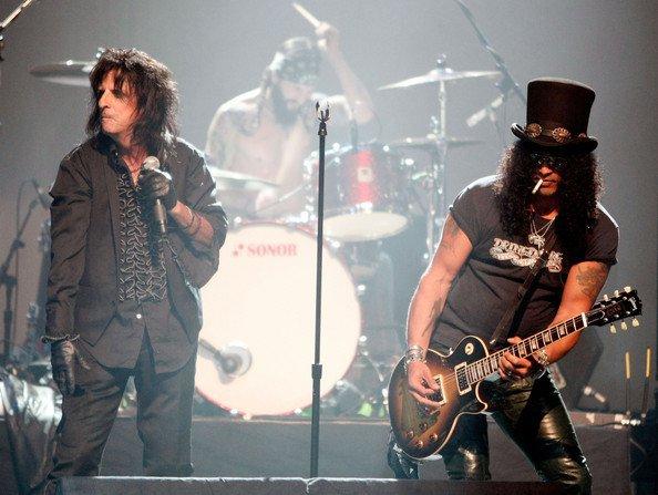 Alice Cooper et Slash !