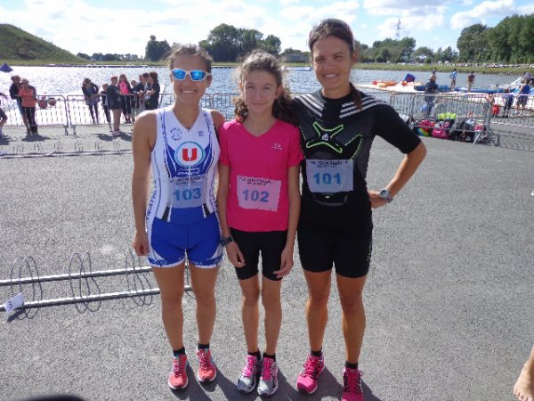 La Triath'elles; Les feminines de Marck'athlon en force !