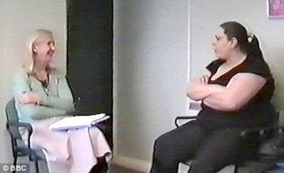 Résumé de l'entrevue de TC (mère de Peter) avec Sue Gilmore (chargée de protéger Peter)