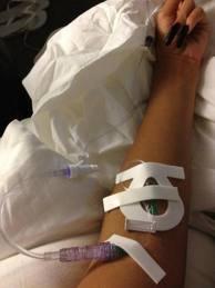 l'hospitalisation de Rihanna