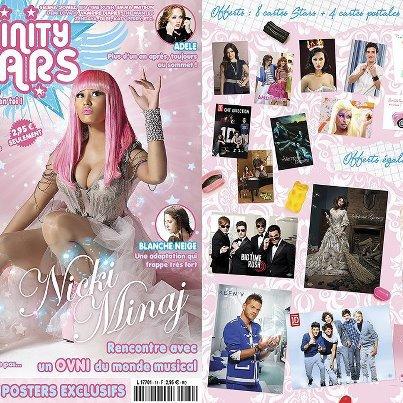 Nicky Minaj en couverture de Trinity Star