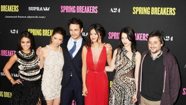 . Article Flash Back :  14/03/13 : Avant Première de SPRING BREAKERS à Los Angeles.  .