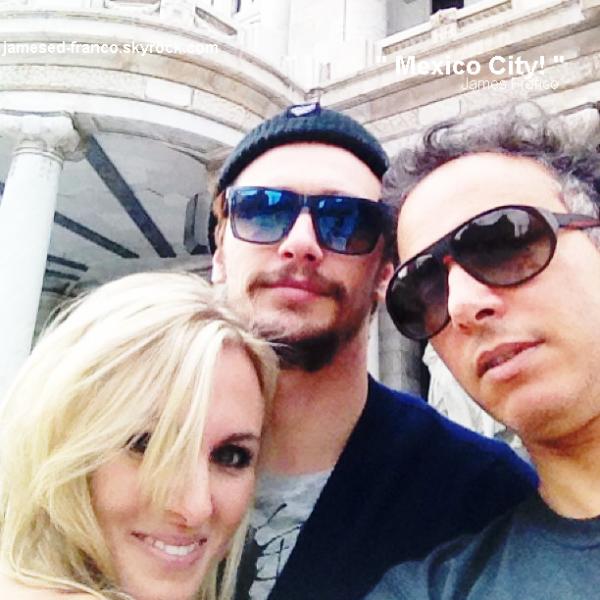 - 2 Mai 2013 : James Franco poste des photos sur son insta lors de son passage au Mexique.   -