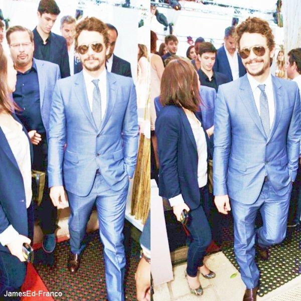 - FESTIVAL DE CANNES 2013 : James Franco est bel et bien présent au festival de Cannes. C'est un James tout beau et tout souriant qui était présent lors du Festival le plus parlé de France. -