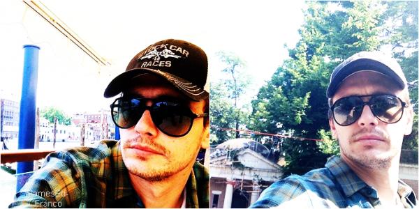 - 14 Juin 2013  : James a posté des photos sur son insta. pendant son séjours à Venice .    Je le trouve très beau surtout avec ses lunettes puis sa casquette. - -