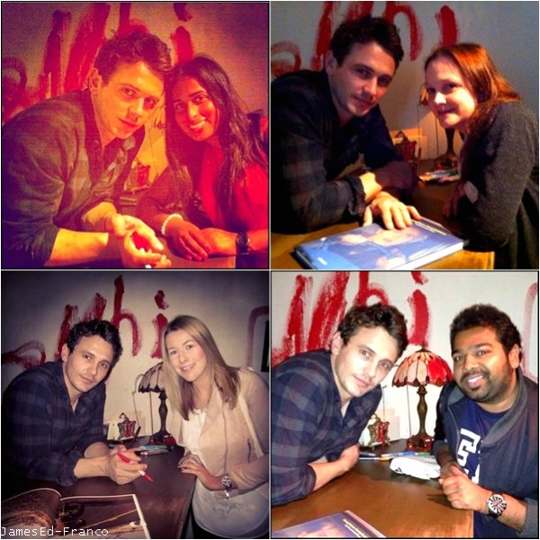 """- Actualité  2 Juillet 2013 : James.F et Kate.H à Londres lors du le tournage de """"Good People"""". James est actuellement à Londres pour son exposition et pour le tournage de son film. -"""
