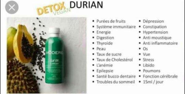 Durian et ses bien fait