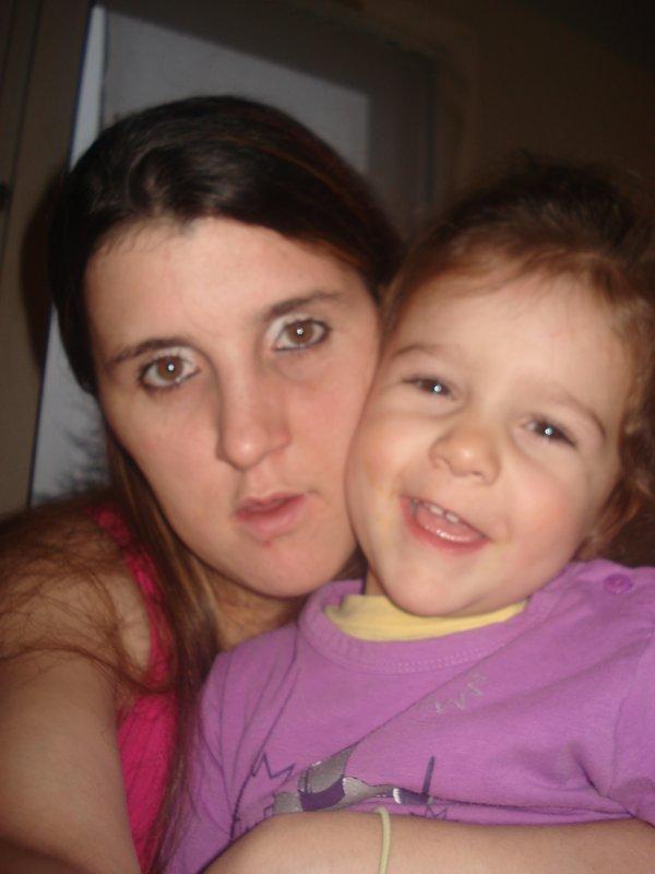 moi et ma fille amelie