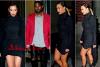 About-Kim.skyrock.com Kim & Kanye se rendent au Madison Square Garden pour un nouveau concert du Yeezus Tour  le 23 Novembre 2O13.