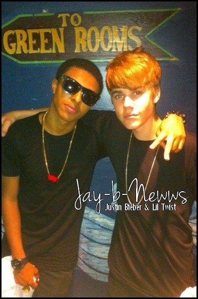Justin & Lil Twist.