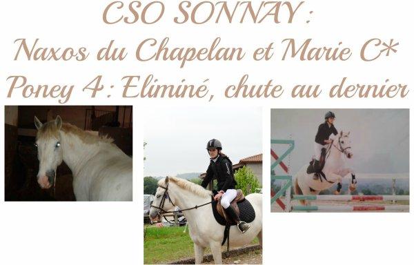 CONCOURS à Sonnay le 2 juin: Marie C. et Naxos du Chapelan ♥