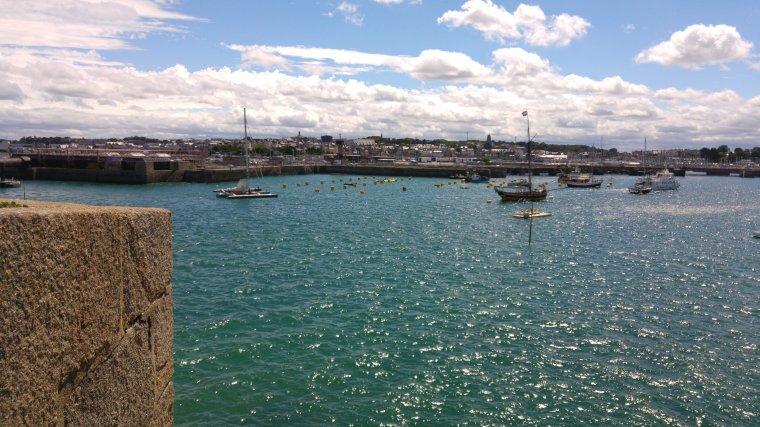 petite visite à St Malo..!  pour Roland..! et autres..!