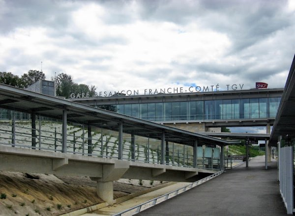 gare de Besançon Franche-Comté TGV