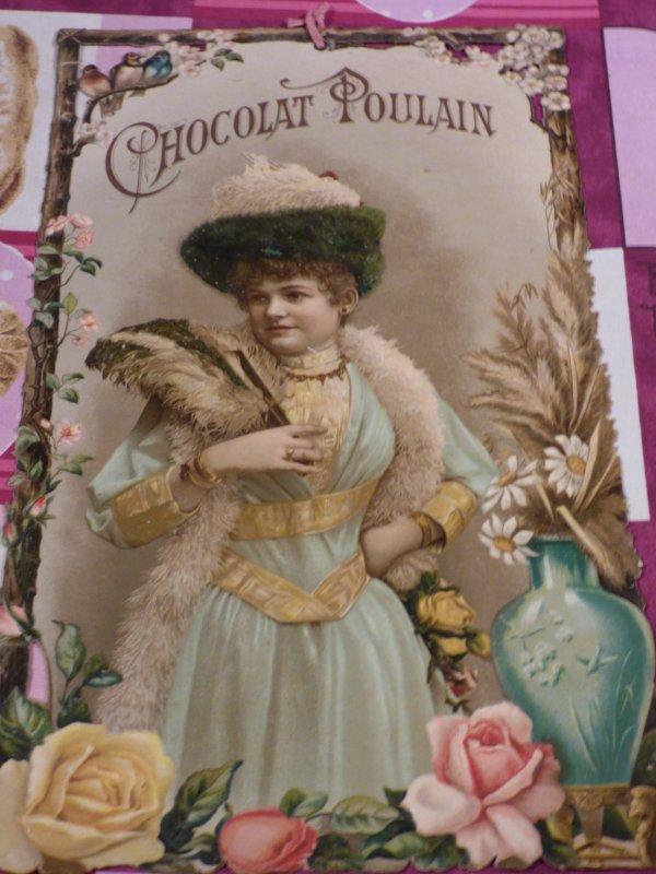 3 EME  CHROMOS  TOUJOURS DE LA MEME SERIE DATANT TOUJOURS DE 1896