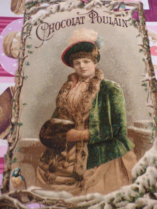 LA 5 EME CHROMO  DE 1896