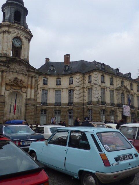 place de la mairie a rennes
