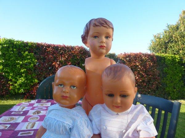 Encore 1 mois et Claudinet sera de retour Grace a Esthel  qui me le ramenera car notre amie sera au Salon du jouets de Betton