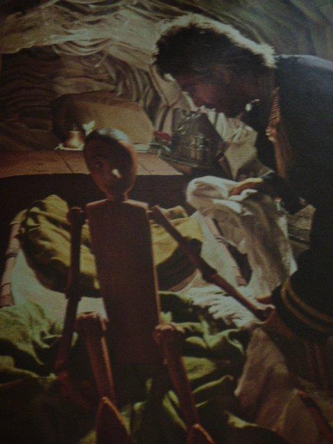 seance nostalgie Le livre de pinochio  tirer des feuilletons de notre enfance
