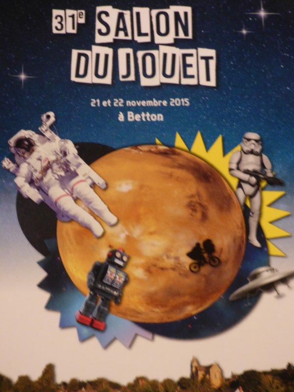 salon  du jouets de Betton  35  Le  21  et 22 Novembre 2015 qui   y va????faites vos badges pour ce reconnaitre