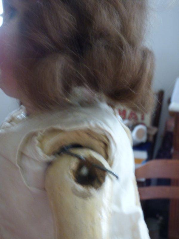 DEP  Avant restauration cadeau  de Noel de mon mari avec une Nadine Raynal qui a bessoin de soin