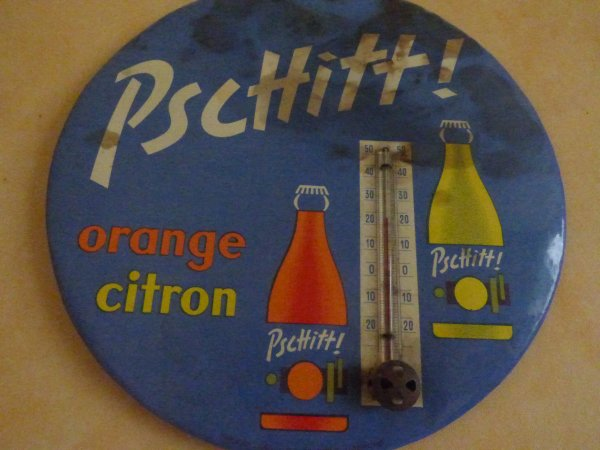 orange ou citron  PSCHITT  THERNOMETRE he oui la bretonne est Nostalgique""