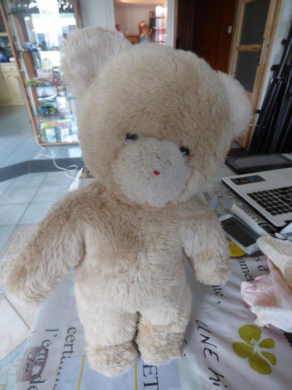 pour les amies passionnees D ours une trouvaille es bien un ours de la marque Nounours?????