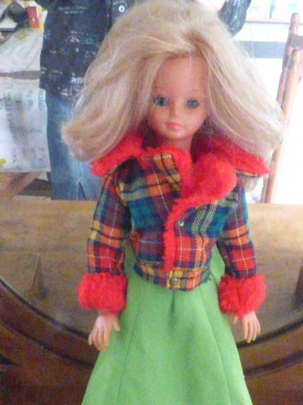 Tenue  Cathie Blouson Lilas 1973 Il me manque le pantalon pattes d eph