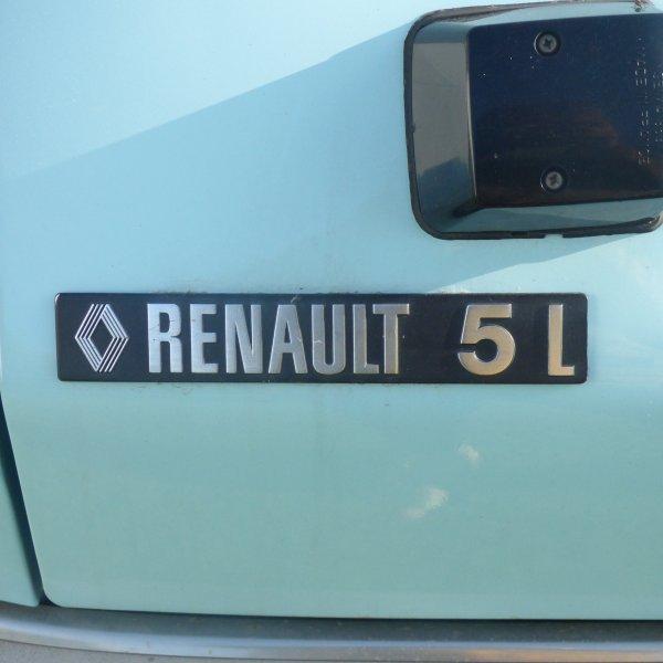 Dimanche  la Renault 5 L 1973  Sera en expo a  Rennes  saint jacques