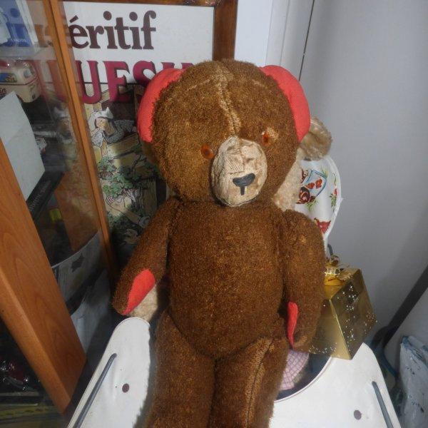 un ours a identifier de 40 CMS