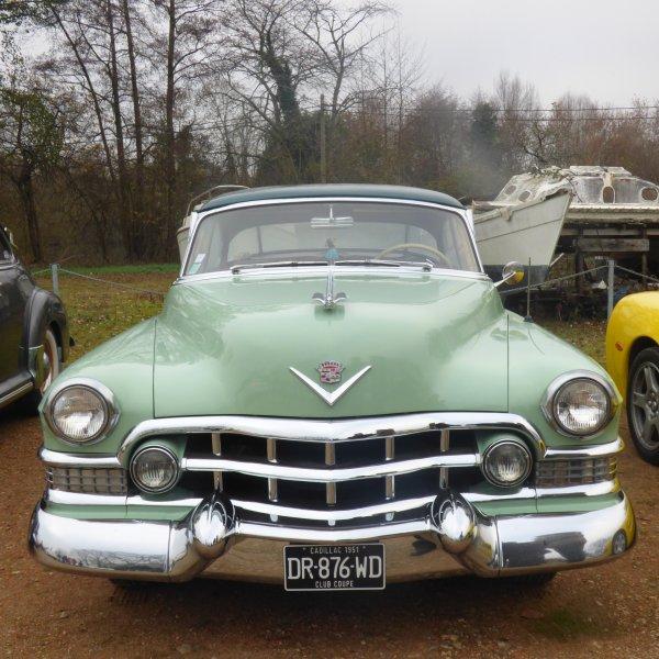 Ce week end telethon alors les anciennes voitures  prestiges et americaines sont de sorties aux etangs d apigne a Rennes