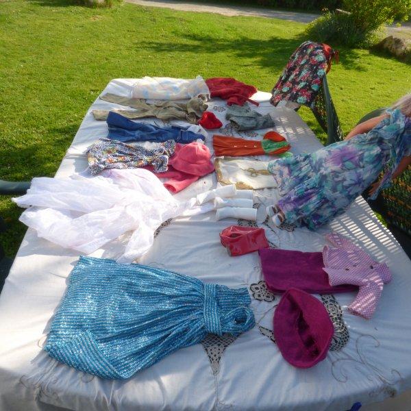 photos d ensemble des tenues  qui mon etait proposer par une dame.............Merci de sa gentillesse