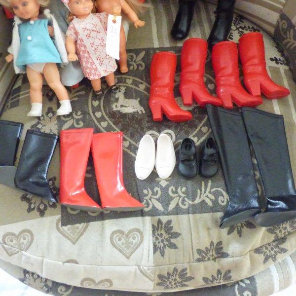 autres trouvailles des vacances  que  du Cathie + 1  Echange avec une amie pour les chaussures a brides noires