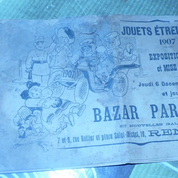 petit cadeau de ma belle soeur............. que je remercie ......................Petit catalogue  1907