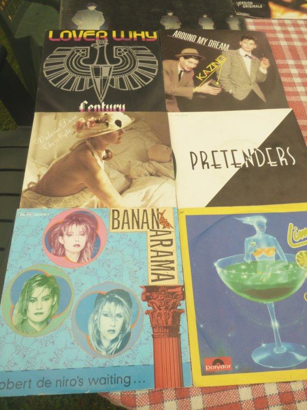 Trouvailles aujourd hui  vinyls ma collection s etoffe + De 100