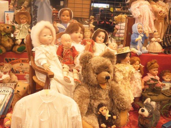 Saint  aubin du  cormier Salon du jouets  2018