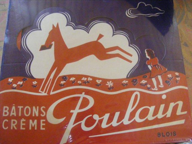 souvenirs gourmandise et chocolat poulain