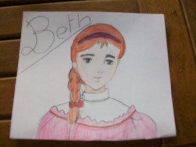 Beth dessin fait par moi