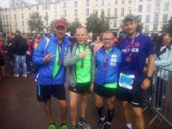 Résultats marathon de Lyon 42 km 195 07/10/2018