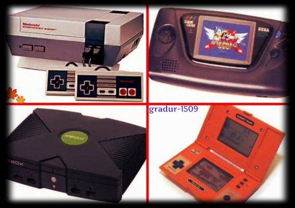 Ancienne consoles de jeux