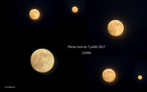 PLEINE LUNE DU 7 JUILLET 2017 PHOTOS © B.TRIOULET