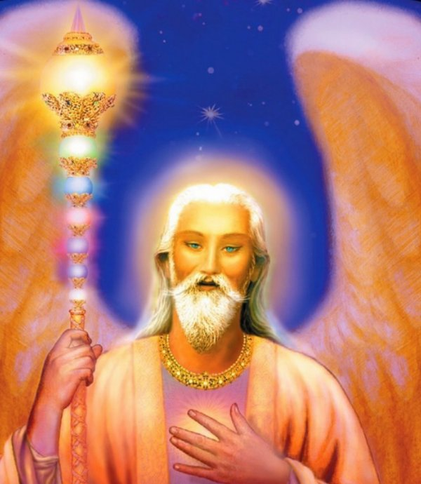 ARCHANGE RAZIEL - VISION CÉLESTE SPIRITUELLE