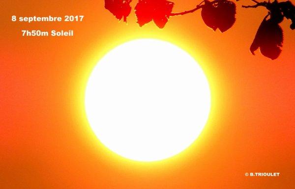 SOLEIL - 8 SEPTEMBRE 2017