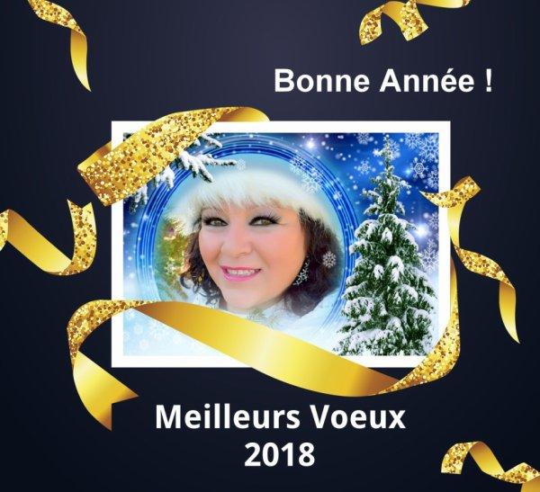 BONNE & HEUREUSE ANNÉE 2018 !