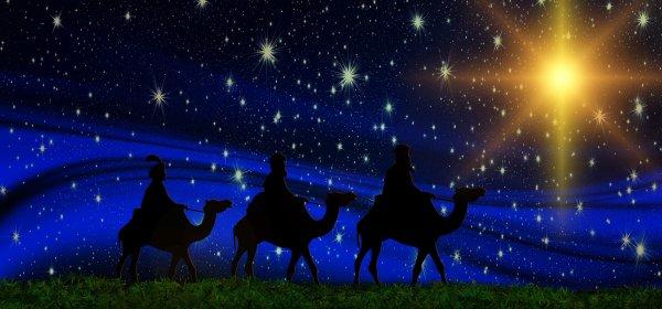 LES ROIS MAGES,  Melchior, Gaspard et Balthazar ( fête le 6 janvier ) Epiphanie