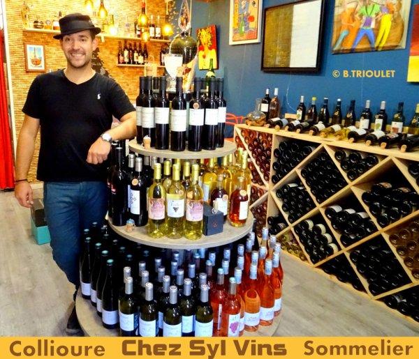 COLLIOURE - CHEZ SYL VINS - BAR A VINS