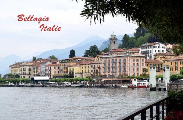 BELLAGIO - LOMBARDIE - LAC DE CÔME - ITALIE