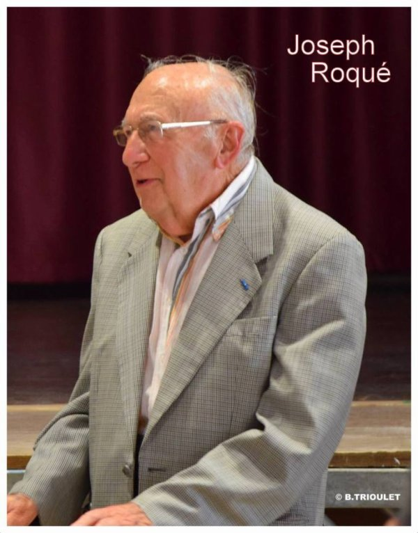 JOSEPH ROQUÉ - MAIRE DE SAUVIAN DE 1971 A 2001