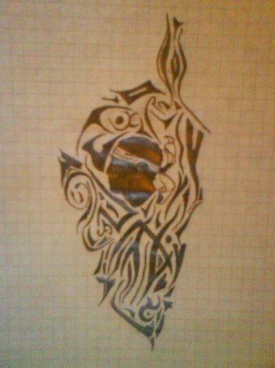Tribal Corse tribal , corse , tete corse - blog de dessin-aloouxiiish