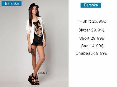 Tenue Bershka
